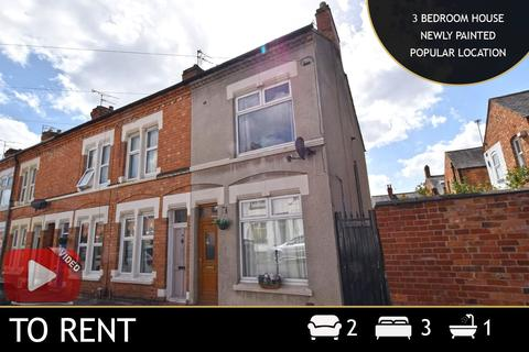 3 bedroom end of terrace house to rent - Edward Road, Leicester, LE2
