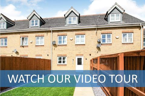 3 bedroom townhouse for sale - Riseholme Close, Leicester, Leicestershire, LE3