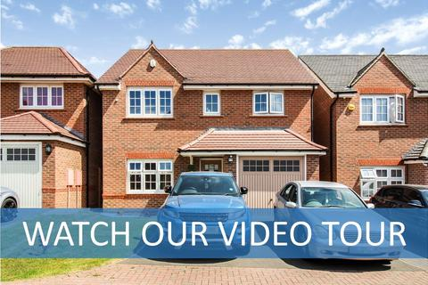 4 bedroom detached house for sale - Hadstock Close, Hamilton, Leicestershire, LE5