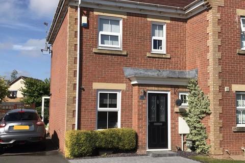 2 bedroom semi-detached house for sale - Aintree Close, Ashington