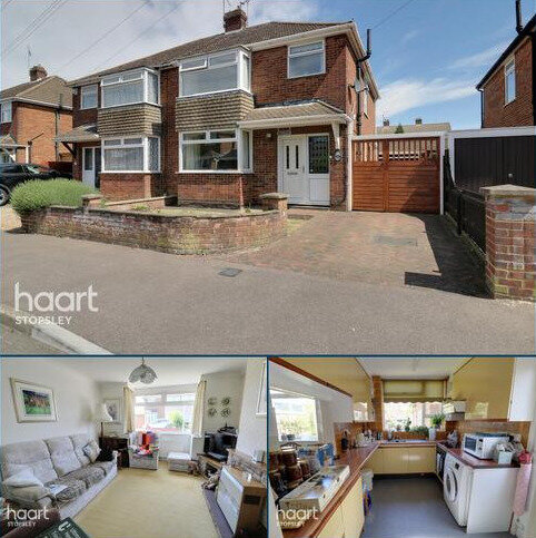 3 bedroom semi-detached house for sale - Silecroft Road, Luton