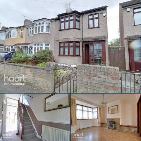 3 bedroom end of terrace house for sale - Strathmore Gardens, Hornchurch