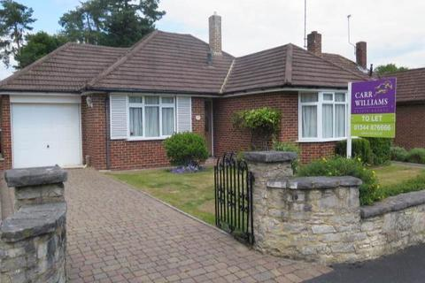 3 bedroom bungalow to rent - Blackmoor Wood, Ascot, Berkshire