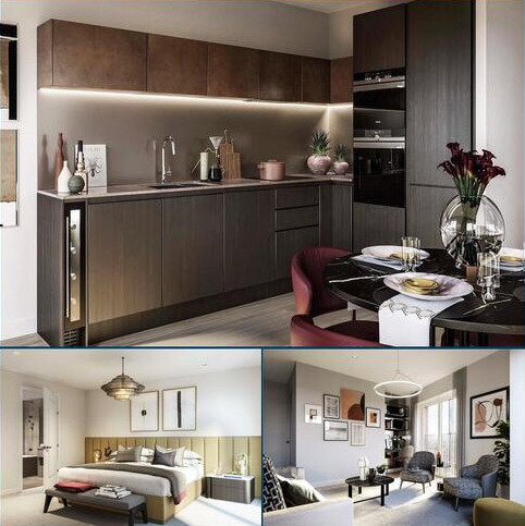 3 bedroom flat for sale - E.8.4 Keybridge Capital, 80 South Lambeth Road, SW8