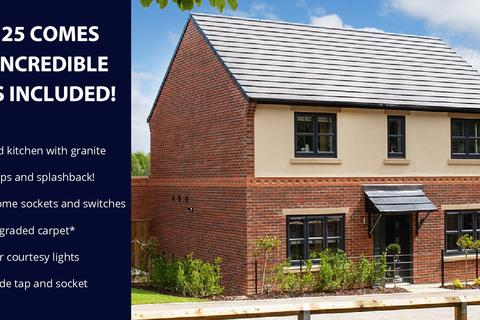 4 bedroom detached house for sale - Plot 25, The Juniper at Astral Park, Off Durham Road, Thorpe Thewels, Stockton on Tees TS21