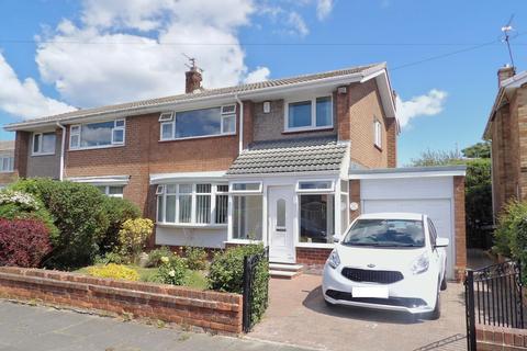 3 bedroom semi-detached house for sale - Meldon Avenue, Grey Hen Estate, South Shields, Tyne and Wear, NE34 0EL