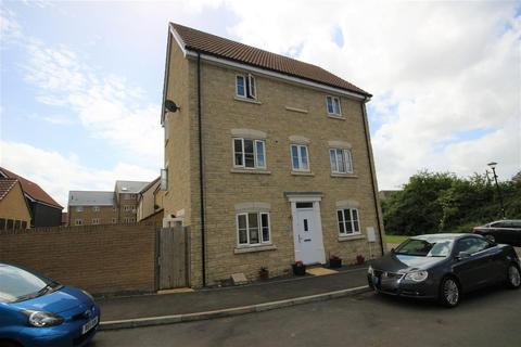 4 bedroom townhouse for sale - Truscott Avenue, Redhouse, Swindon