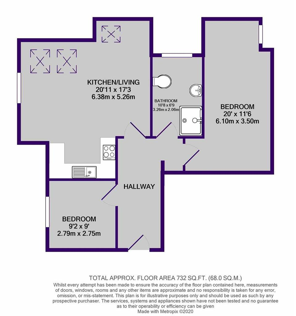 Floorplan: 20 Brentwood Court print.JPG
