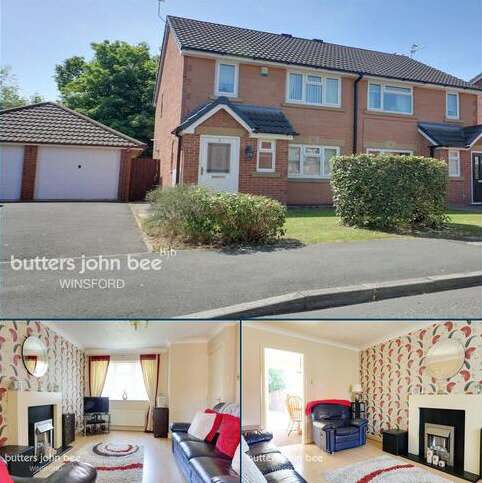 3 bedroom semi-detached house for sale - Stirling Close, Winsford