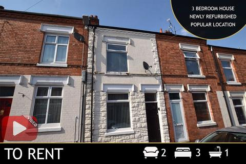 3 bedroom terraced house to rent - Tewkesbury Street, Leicester, LE3