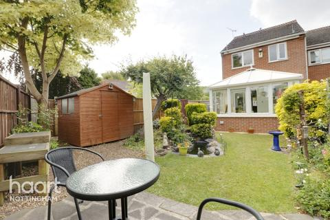 2 bedroom end of terrace house for sale - Paddock Close, Nottingham