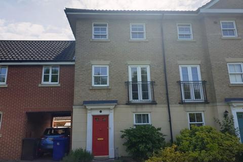 3 bedroom townhouse to rent - Bulrush Crescent, Bury St. Edmunds
