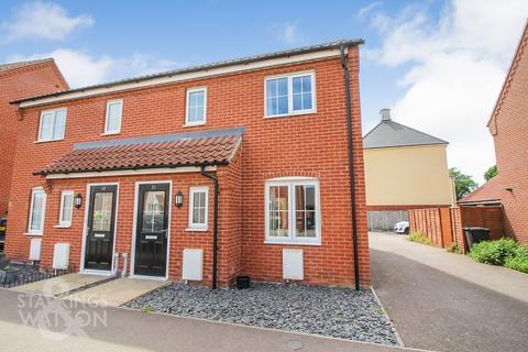 3 bedroom semi-detached house for sale - Albini Way, Wymondham