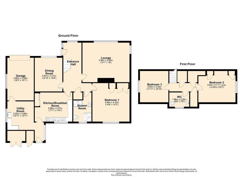 Floorplan: 2 D Floor Plan Brynmor, Criccieth.jpg