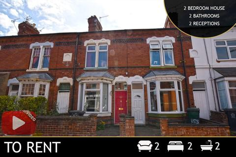2 bedroom terraced house to rent - Clarendon Park Road, Leicester, LE2