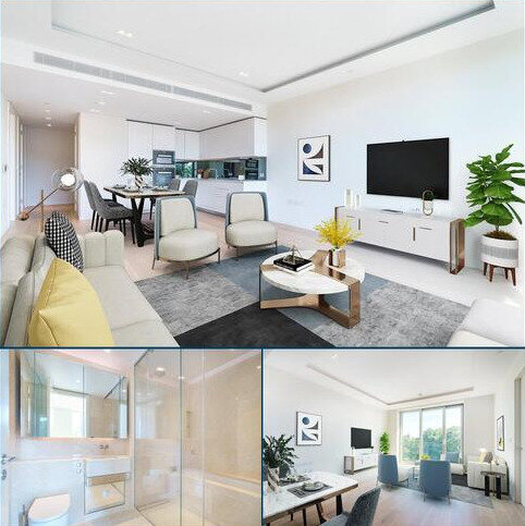 2 bedroom flat to rent - Lillie Square, London, SW6