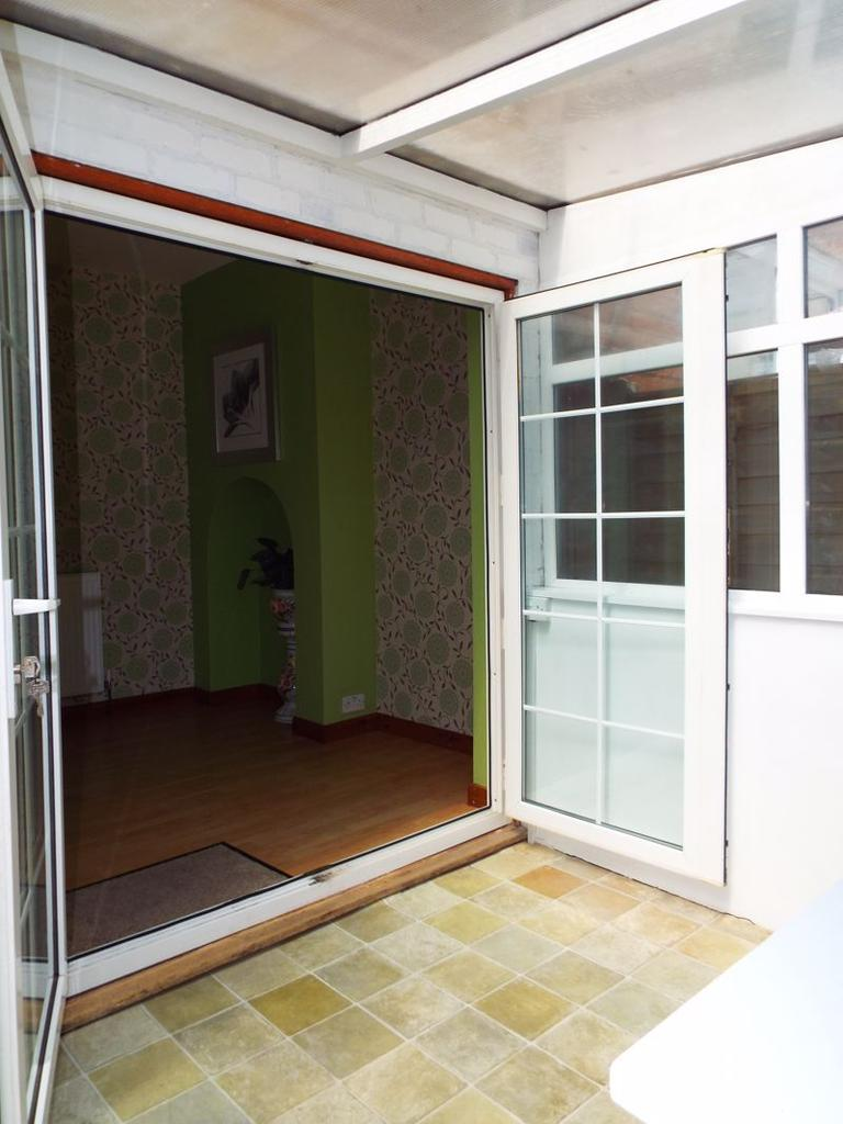 Doors from dining