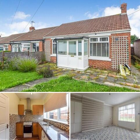 2 bedroom terraced bungalow for sale - Grantham Avenue, Seaham, Durham
