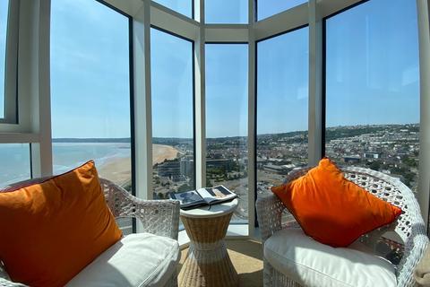 3 bedroom penthouse to rent - Meridian Tower, Maritime Quarter, Swansea, SA1 1JW