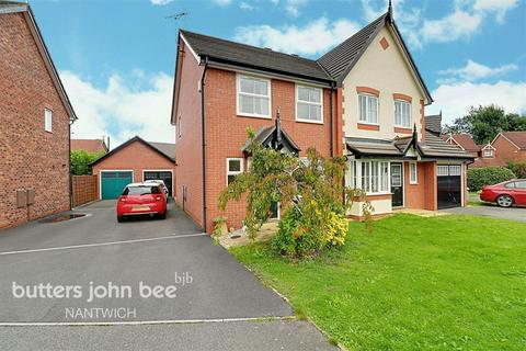 3 bedroom semi-detached house for sale - Saltmeadows, Nantwich