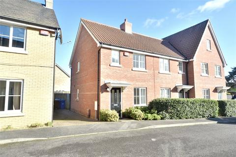 2 bedroom end of terrace house for sale - Elmcroft Close, Beck Row, Bury St Edmunds, Suffolk, IP28