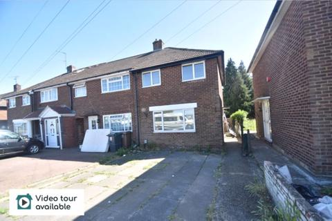2 bedroom semi-detached house to rent - Dallow Road, Luton