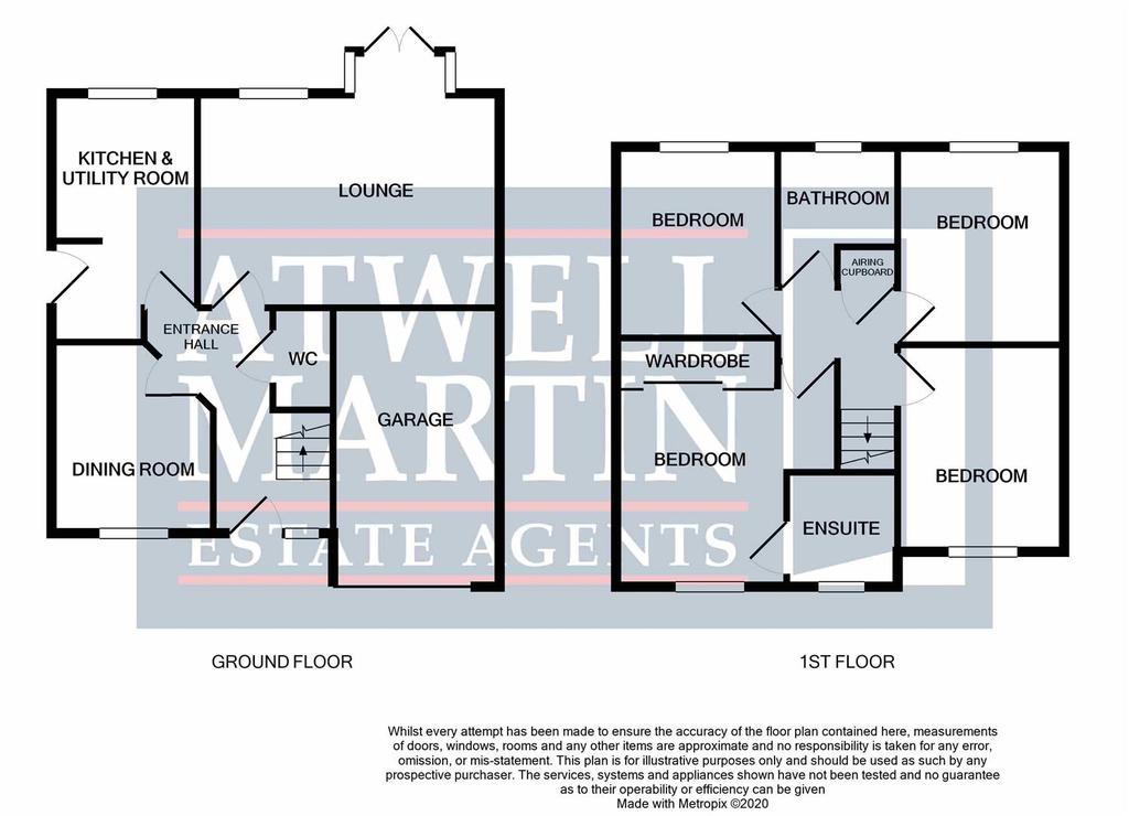 Floorplan: Saxby Road Chippenham
