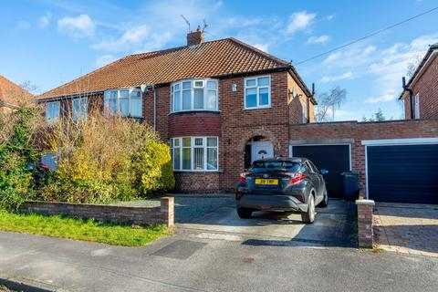 3 bedroom semi-detached house for sale - Manor Way, Rawcliffe, York