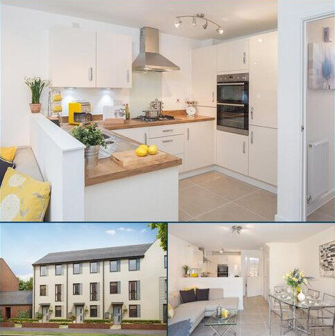 3 bedroom terraced house for sale - Plot 243, Cannington at Ladden Garden Village, Off Leechpool Way, Yate, BRISTOL BS37