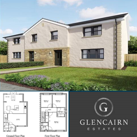 3 bedroom property with land for sale - Plot 6, The Blackwood, Glencairn estate, Cumnock, KA18 1SH