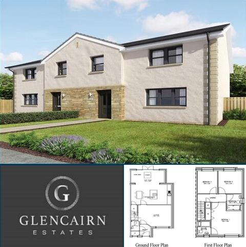 3 bedroom property with land for sale - Plot 16, The Blackwood, Glencairn Estate, Cumnock, KA18 1SH