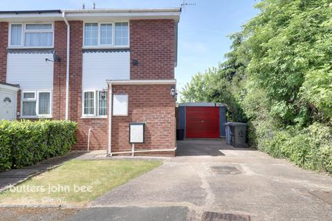 2 bedroom end of terrace house for sale - Bidvale Way, Crewe