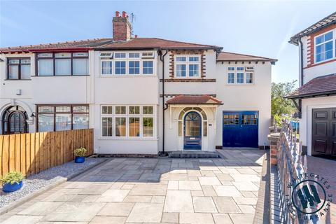 4 bedroom semi-detached house for sale - Manor Crescent, Woolton, Merseyside, L25