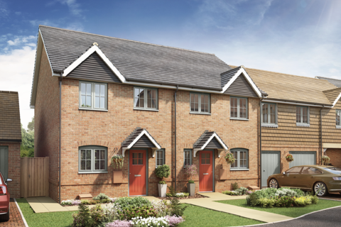 2 bedroom terraced house for sale - Plot 26, 2 Bedroom House at Dukes Meadow, Odiham Road, Riseley RG7