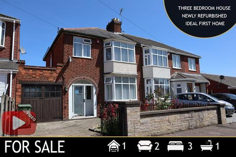 3 bedroom semi-detached house for sale - Una Avenue, Leicester, LE3