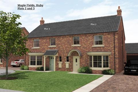 3 bedroom semi-detached house for sale - Plot 2 and 3, Maple Fields, Huby