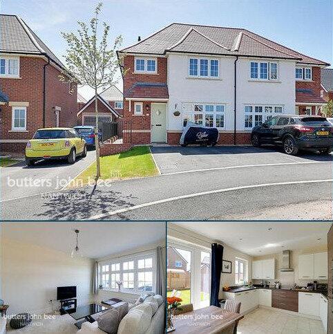 3 bedroom semi-detached house for sale - Stratton Road, Henhull, Nantwich
