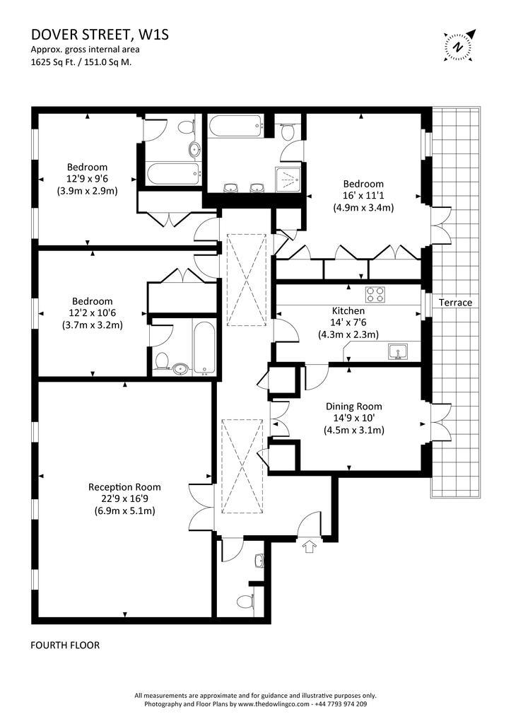 Floorplan: Flat 7, 8 9 dover...