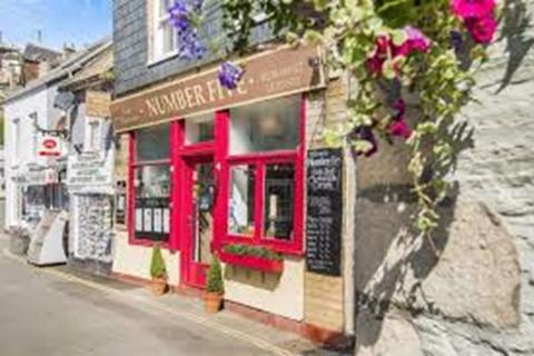 Restaurant - Leasehold Cafe and Restaurant Located In Mevagissey