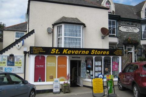 Retail property (high street) for sale - Freehold Convenience Store and Off-License Located In St Keverne