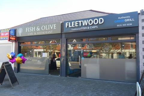 Takeaway for sale - Leasehold Fish and Chip Restaurant/Takeaway Located In Boldmere