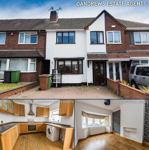 3 bedroom terraced house for sale - Chantrey Crescent, Great Barr, BIRMINGHAM