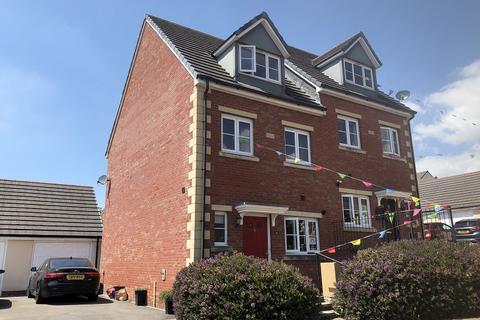 3 bedroom semi-detached house for sale - Maes Yr Eos, Coity, Bridgend, Bridgend County. CF35 6DJ