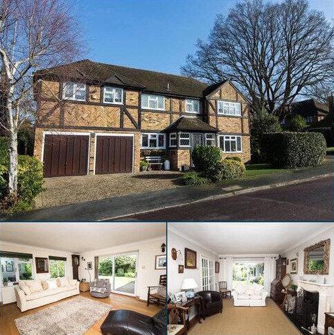 5 bedroom detached house for sale - Leycester Close, Windlesham, Surrey