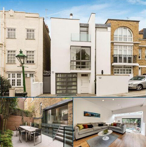 3 bedroom terraced house for sale - Aubrey Road, Kensington