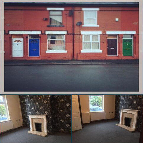 2 bedroom house to rent - Markingtong St, Rusholme, Manchester M14