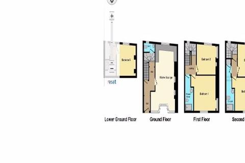 5 bedroom terraced house to rent - Napier Terrace, Exeter
