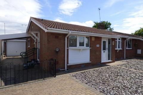 2 bedroom semi-detached bungalow for sale - Monkton Close, Cottingham
