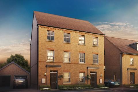 3 bedroom terraced house for sale - Plot 291, Cannington at Bruneval Gardens, Pennefather's Road, Wellesley, Aldershot GU11