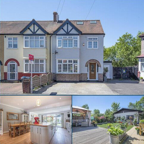 4 bedroom end of terrace house for sale - Seaforth Avenue, New Malden